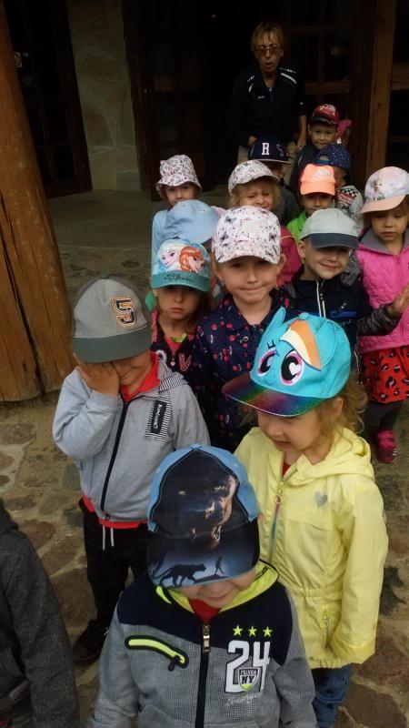 Wróbelki na wycieczce w Szymbarku