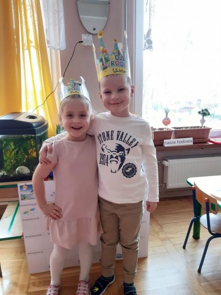 Urodziny Poli i Wiktora