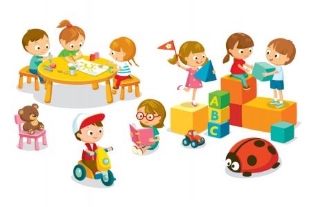 Zajęcia adaptacyjne dla dzieci nowo przyjętych do przedszkola.