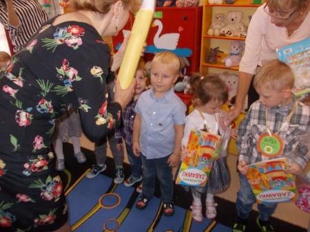Pasowanie na przedszkolaka - Wróbelki
