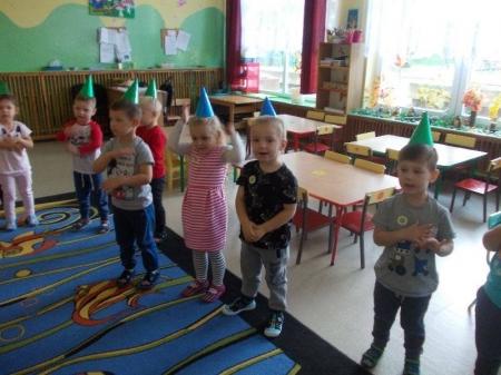 Wróbelki obchodzą dzień Dzień Przedszkolaka