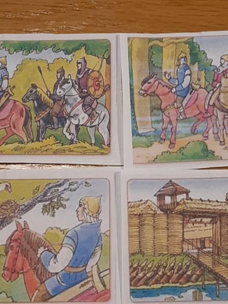 ,, O Lechu, Czechu i Rusie'' - opowiadanie legendy na podstawie historyjki obrazkowej